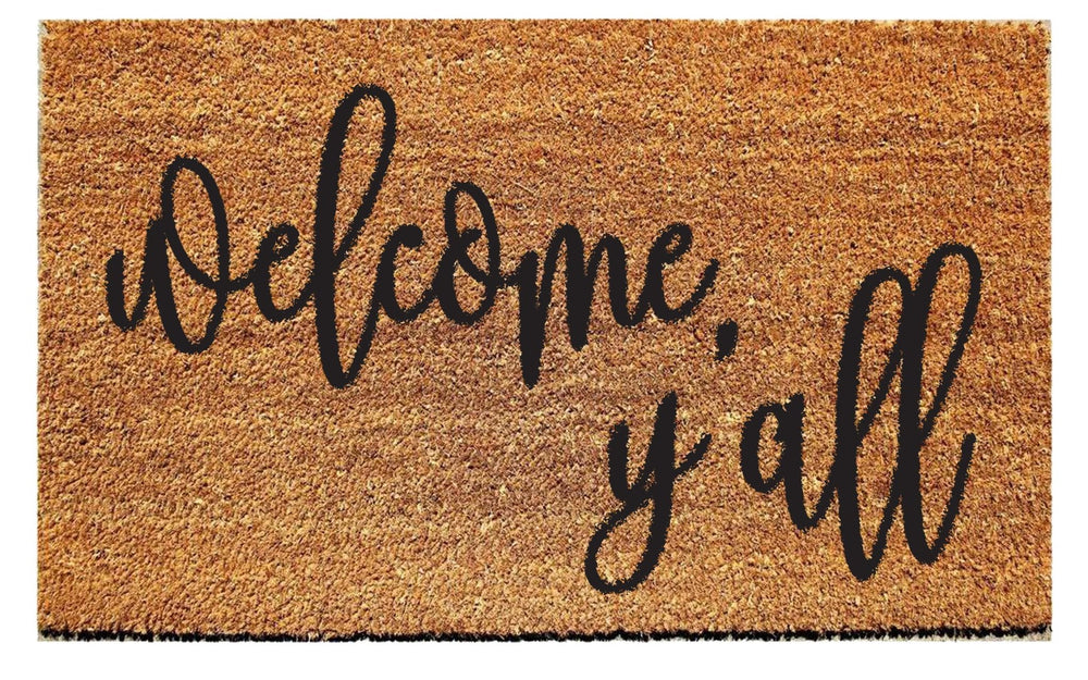 Welcome Ya'll Doormat - Urban Owl
