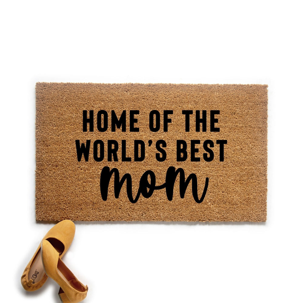 World's Best Mom Doormat - Urban Owl