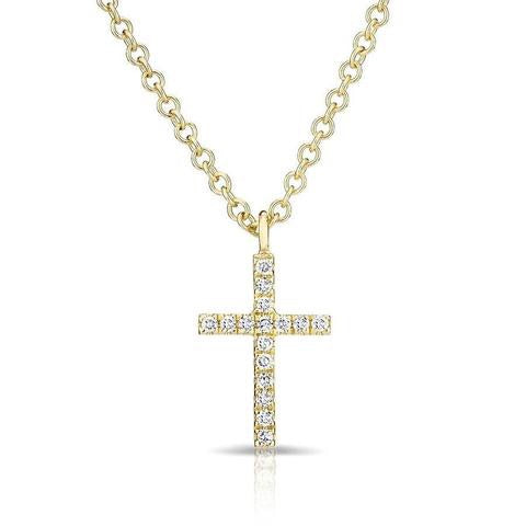 cross round tw cut en white diamond chains jaredstore jar necklace zm ct gold jared mv