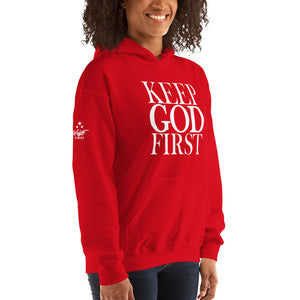 Keep God First Unisex Hoodie