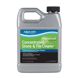 Aqua Mix Concentrated Stone and Tile Cleaner Effective Routine Floor Cleaner 32oz
