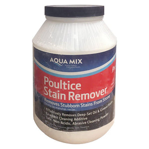 Aqua Mix Poultice Stain Remover for Stubborn Stains in Stones 6 Lb