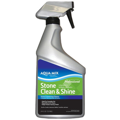 Aqua Mix Stone Clean and Shine Stone Countertop Cleaner 24oz