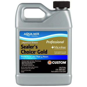 Aqua Mix 30882 Sealer's Choice Gold Quart 32oz