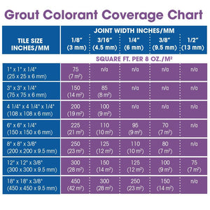 Aqua Mix Grout Colorant Color compatible and replacement for Laticrete - Almond - 8 Fl Oz