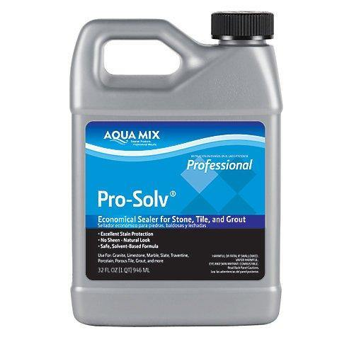 Aqua Mix Pro-Solv Economical Sealer for Stone, Tile, And Grout Quart 32 oz