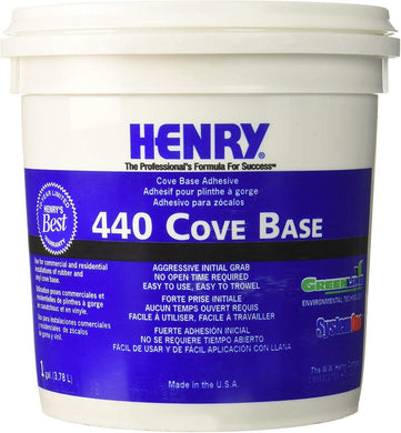 Henry, W.W. Co. H 440 12109 Cove Base Adhesive 1 Gallon