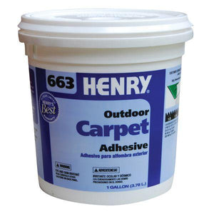 Henry, W.W. Co. H663 12185 Outdoor Carpet Adhesive Beige 1 Gallon