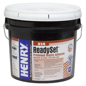 Henry, W.W. Co. H 314 Ready Set 12257 Premixed Mastic Adhesive 3.5 Gallons