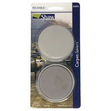 "Shaw 2.75"" Cream Carpet Savers Reusable Slider Pads 4 Units"
