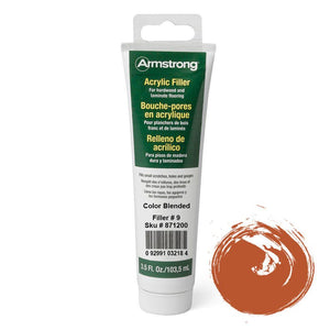 Armstrong Acrylic Filler for Hardwood and Laminate Flooring Color Blended Filler 3.5 Fl Oz