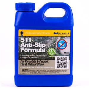 Miracle Sealants 511 Anti Slip Penetrating Sealer For Porcelain & Ceramic Tile Quart 32 oz