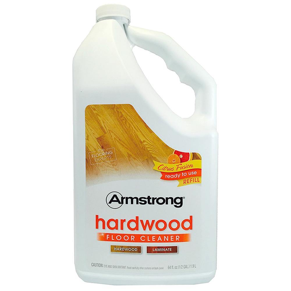 Armstrong Hardwood and Laminate Floor Cleaner Ready To Use Refill Citrus Fusion 64 oz