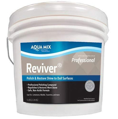 Aqua Mix C100530 Reviver Professional Marble Polishing Compound Polish & Restore Surfaces 10 Lbs