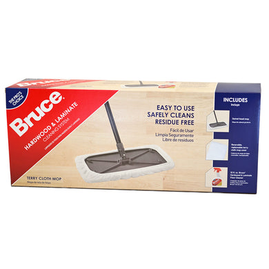 Bruce Hardwood & Laminate Cleaning System Kit (with Terry Cloth Mop Cover) by Armstrong
