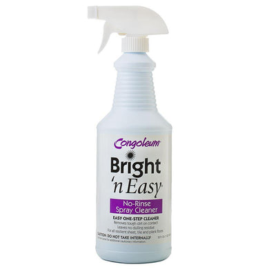 Congoleum Bright 'N Easy No Rinse Spray Floor Cleaner 32oz Ready-to-use