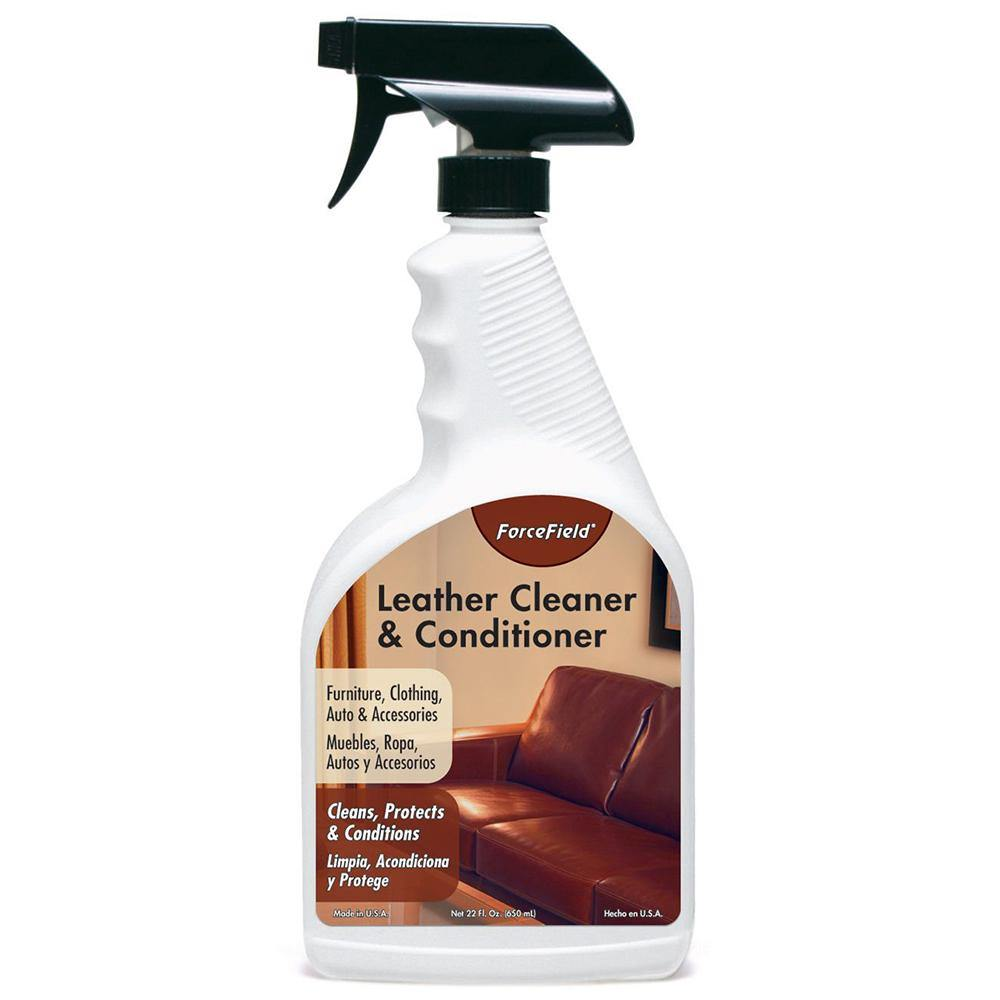 ForceField Leather Cleaner and Conditioner 22oz Spray