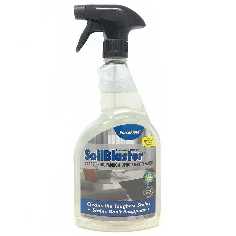 ForceField SoilBlaster Carpet Rug Fabric Upholstery Cleaner 32oz Spray