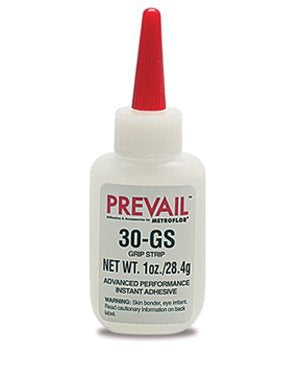 Prevail 30-GS Grip Strip Advanced Performance Instant Adhesive 1oz