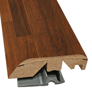 "Quick-Step Performance Accessories 84.2"" (2.15m) Laminate Multifunctional Molding Door & Threshold Profile in Color Everglade Mahogany U1270 Classic, includes track and Incizo tool"