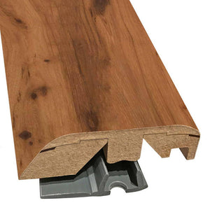"Quick-Step Performance Accessories 84.2"" (2.15m) Multifunctional Molding in Color Aged Cork Hickory U1682 Veresque, includes track and Incizo tool"