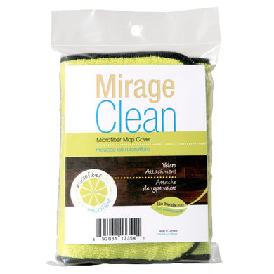 Mirage Clean 4x15 Eco Velcro Microfiber Mop Cover