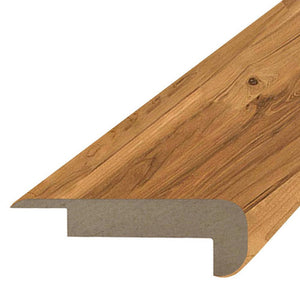 "Quick-Step Performance Accessories 78.7"" (2m) Overlap Stair Nose Profile in Color Spiced Tea Maple, 2-Strip  Eligna"