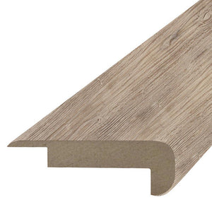 "Quick-Step Performance Accessories 78.7"" (2m) Overlap Stair Nose Profile in Color Silver Sands Chestnut US3531 Elevae"
