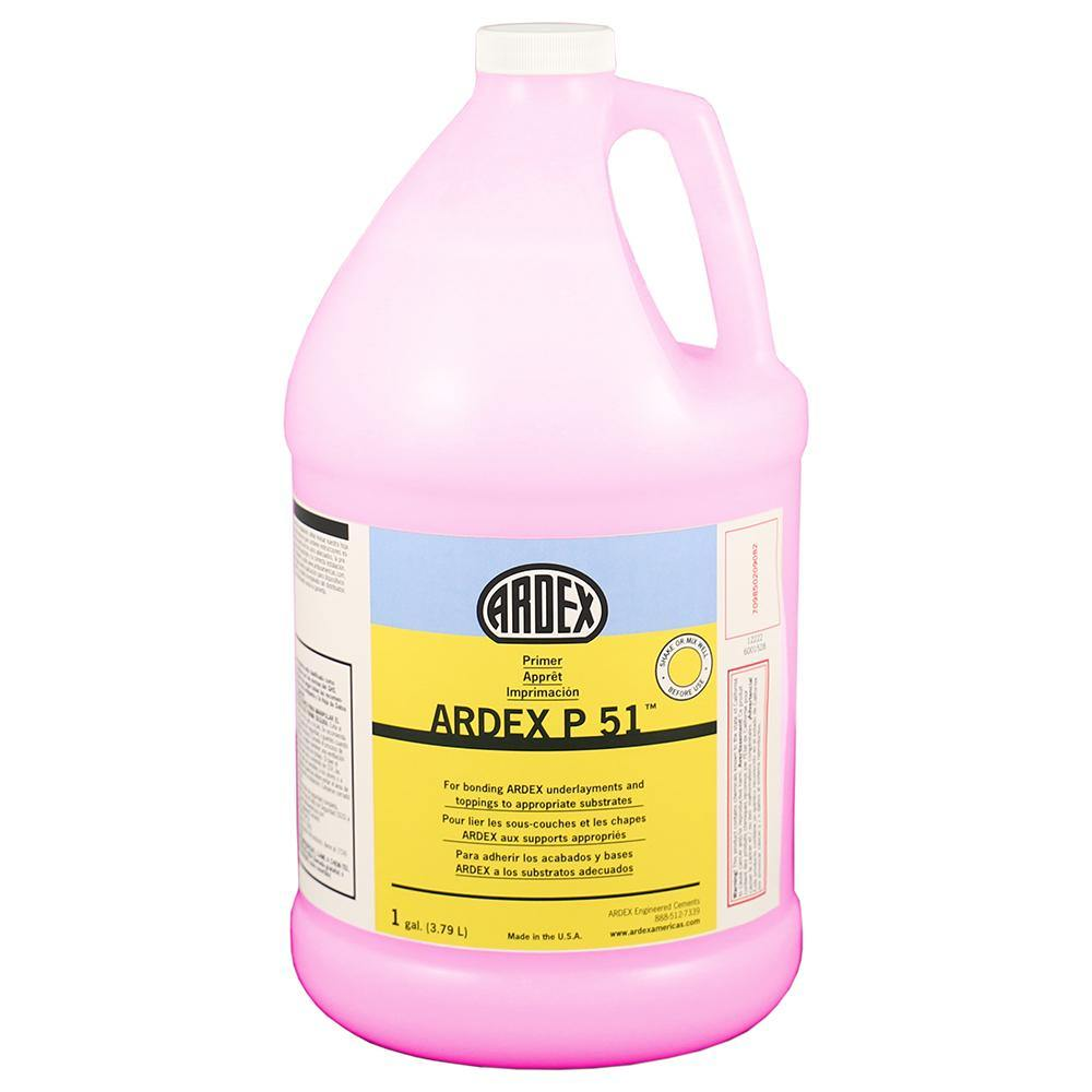 Ardex P51 Primer for the installation of underlayments and toppings over absorbent concrete 1 Gallon