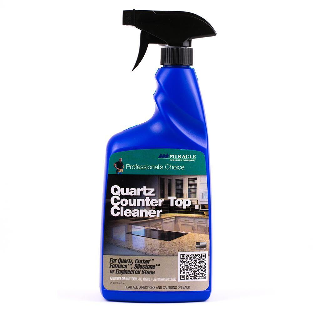 Miracle Sealants Quartz Counter Top Cleaner Spray 32oz