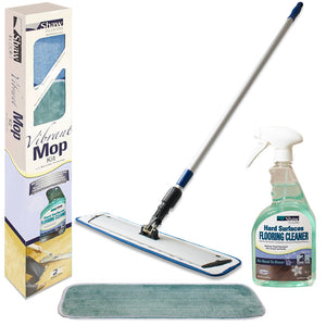 Shaw Floors Vibrant Micro Fiber Mop Hardwood and Laminate Cleaning Kit