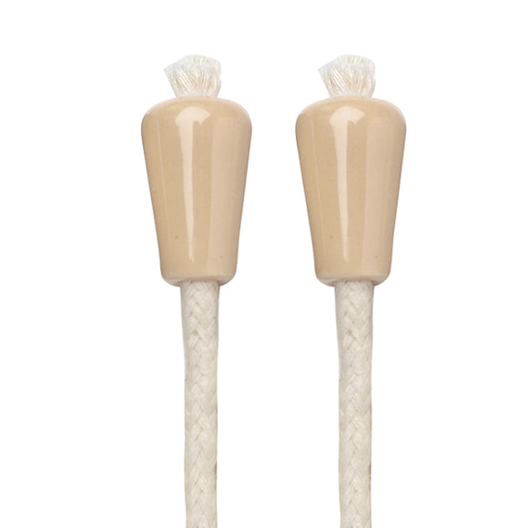 Afterglow Ceramic Beige Bottle Wick - Set of 2 - Oenophilia