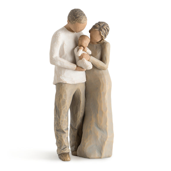 We are Three - Willow Tree Figurine