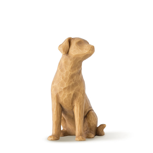 Love my Dog ( light) - Willow Tree Figurine