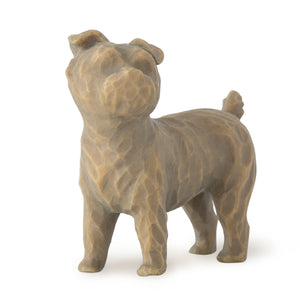 Love my Dog (small, standing) - Willow Tree Figurine