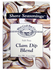 Clam Dip Blend - Shore Seasonings - Blue Crab Bay Co.