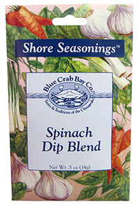 Spinach Dip Blend - Shore Seasonings - Blue Crab Bay Co.