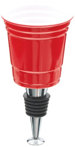 The Original Party Shot Bottle Stopper- Red Cup - Carson Home Accents