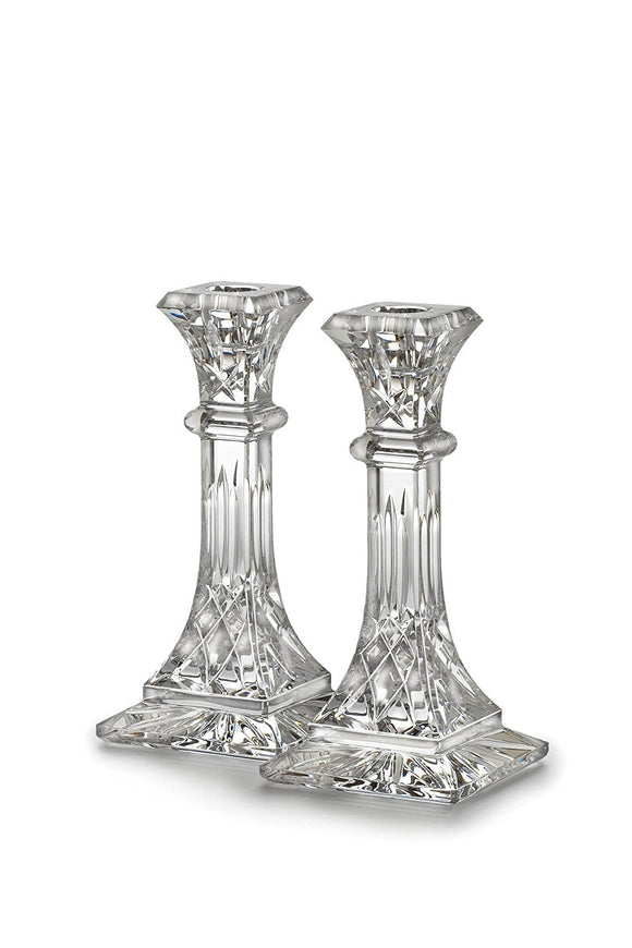 Waterford Lismore 8'' Candlestick Pair