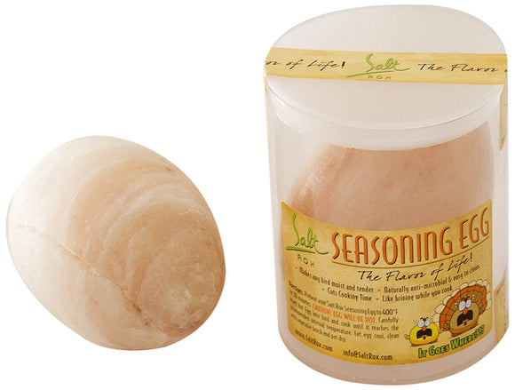 Salt Rox Pink Himalayan Salt Chicken Brining Egg