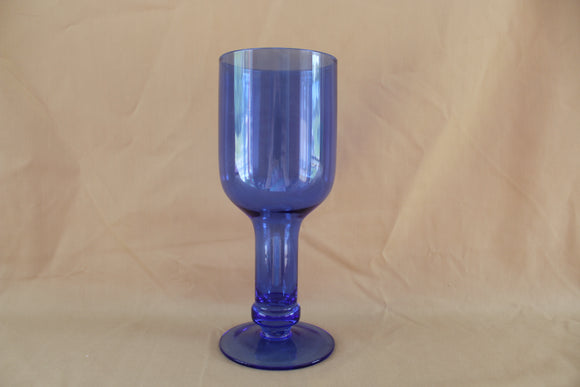Blue Wine Glass
