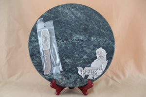 VT Hokie Bird - Marble Cheese Board w/ spreader