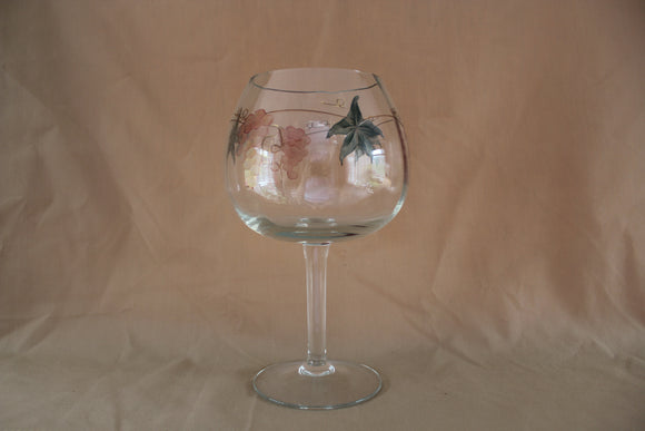 Wine Things - Etched Goblet Glass