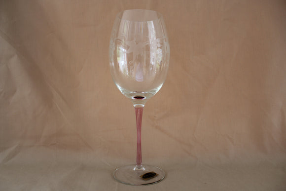 Wine Things - Etched Tall Wine Glass