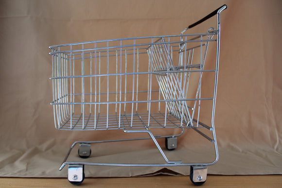 "10.5"" x 11"" Small Metal Shopping Carts"