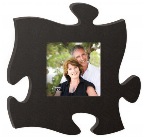 Black - Wall Puzzle Photo Frame - P. Graham Dunn