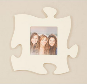 White - Wall Puzzle Photo Frame - P. Graham Dunn