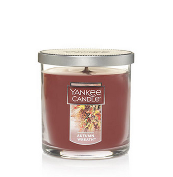 Autumn Wreath (Fragrance) - Regular Tumbler Candle - Yankee Candle