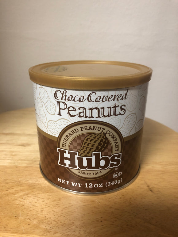 Hubs 12oz. Chocolate covered peanuts