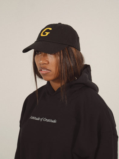 G for GRATITUDE Dad Cap | Black